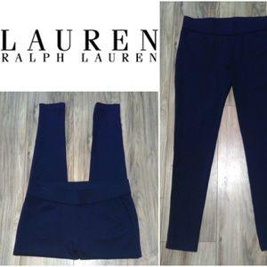 Lauren Ralph Lauren Leggins Comfort Waist Sz M